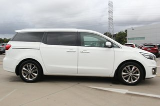 2016 Kia Carnival YP MY16 Platinum White 6 Speed Sports Automatic Wagon