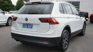 2018 Volkswagen Tiguan 5N MY18 110TSI DSG 2WD Trendline White 6 Speed Sports Automatic Dual Clutch