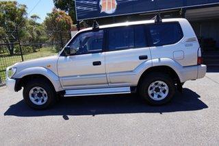 2002 Toyota Landcruiser Prado KZJ95R GXL Gold 5 Speed Manual Wagon.