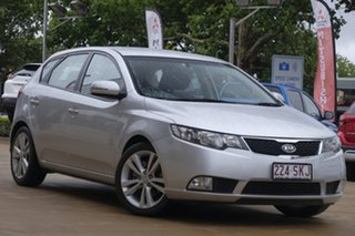 2012 Kia Cerato TD MY12 Extra Silver 6 Speed Sports Automatic Hatchback.
