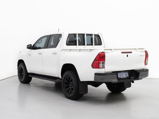 2017 Toyota Hilux GUN126R SR (4x4) White 6 Speed Automatic Cab Chassis