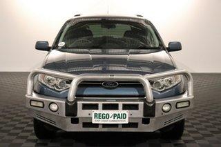 2015 Ford Territory SZ MkII TX Seq Sport Shift AWD Blue 6 speed Automatic Wagon.
