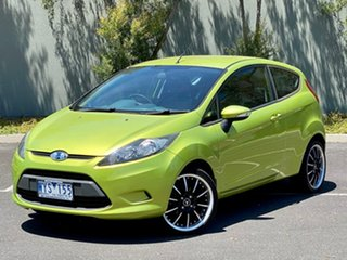 2009 Ford Fiesta WS CL Green 4 Speed Automatic Hatchback.