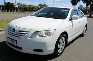 2006 Toyota Camry ACV40R Altise White 5 Speed Automatic Sedan.