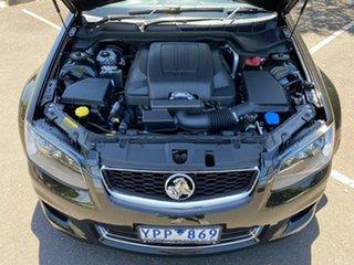 2011 Holden Commodore VE II MY12 SV6 Black 6 Speed Sports Automatic Sedan