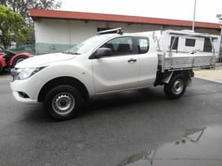 2016 Mazda BT-50 MY16 XT Hi-Rider (4x2) White 6 Speed Automatic Freestyle Cab Chassis