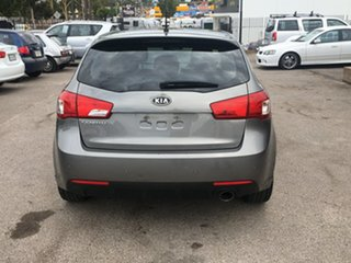 2011 Kia Cerato TD MY11 SLi Grey 6 Speed Sports Automatic Hatchback