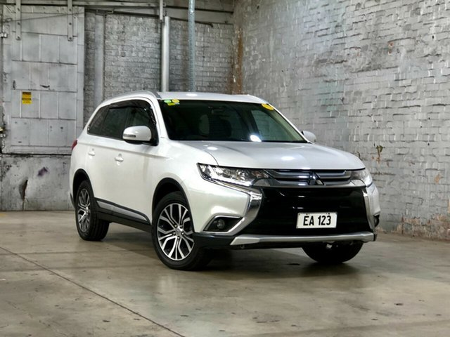 Used Mitsubishi Outlander ZK MY16 LS 2WD Mile End South, 2015 Mitsubishi Outlander ZK MY16 LS 2WD White 6 Speed Constant Variable Wagon