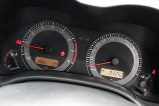 2011 Toyota Corolla ZRE152R MY11 Ascent Sport Charcoal 6 Speed Manual Sedan