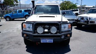 2009 Toyota Landcruiser VDJ79R MY10 Workmate White 5 Speed Manual Cab Chassis.