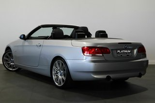 2007 BMW 3 Series E93 335i Steptronic Silver 6 Speed Sports Automatic Convertible