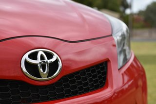 2013 Toyota Yaris NCP131R ZR Red 5 Speed Manual Hatchback
