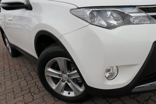2013 Toyota RAV4 ASA44R GXL AWD White 6 Speed Sports Automatic SUV.
