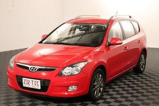 2010 Hyundai i30 FD MY11 SLX cw Wagon Red 4 speed Automatic Wagon.