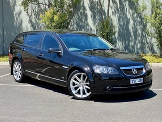 2011 Holden Calais VE II V Sportwagon Black 6 Speed Sports Automatic Wagon.
