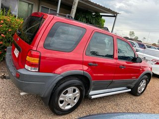 2002 Ford Escape BA XLT Red 4 Speed Automatic SUV
