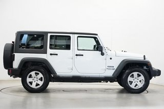 2018 Jeep Wrangler JK MY18 Unlimited Sport White 5 Speed Automatic Softtop