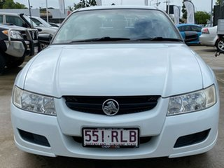 2007 Holden Crewman VZ MY06 White 4 Speed Automatic Utility.