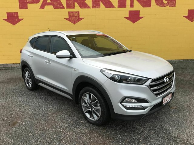 Used Hyundai Tucson TL MY18 Active X 2WD Winnellie, 2017 Hyundai Tucson TL MY18 Active X 2WD Silver 6 Speed Sports Automatic Wagon
