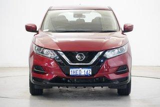 2018 Nissan Qashqai J11 Series 2 ST X-tronic Burgundy 1 Speed Constant Variable Wagon.