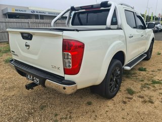2016 Nissan Navara D23 ST-X 4x2 White 6 Speed Manual Utility