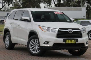 2016 Toyota Kluger GSU55R GX AWD White 6 Speed Sports Automatic SUV.