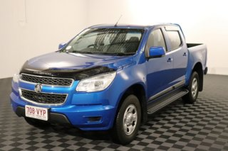 2015 Holden Colorado RG MY16 LS Crew Cab Blue 6 speed Automatic Utility.