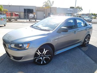 2012 Mitsubishi Lancer CJ MY12 Platinum Grey 6 Speed Constant Variable Sedan.