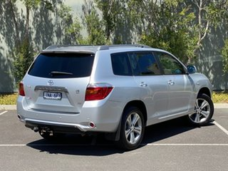 2008 Toyota Kluger GSU45R KX-S AWD Silver 5 Speed Sports Automatic Wagon