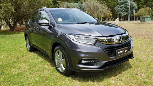 Demo Honda HR-V MY21 VTi-S Tanunda, 2020 Honda HR-V MY21 VTi-S Modern Steel 1 Speed Automatic Hatchback