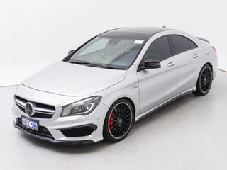 2013 Mercedes-Benz CLA45 117 AMG Silver 7 Speed Automatic Coupe