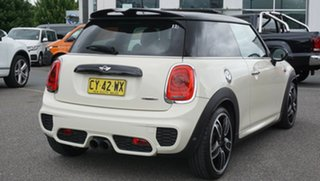 2018 Mini Hatch F56 John Cooper Works White 8 Speed Sports Automatic Hatchback