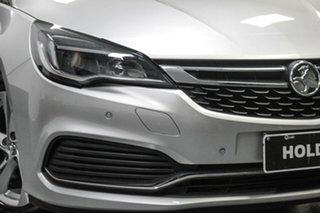 2017 Holden Astra BK MY17 RS Silver 6 Speed Sports Automatic Hatchback.