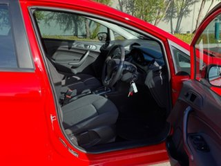 2014 Ford Fiesta WZ Ambiente PwrShift Red 6 Speed Sports Automatic Dual Clutch Hatchback