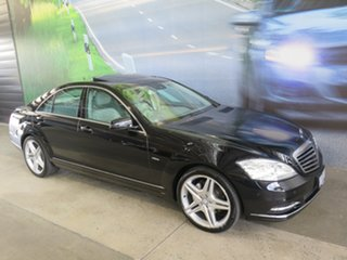 2011 Mercedes-Benz S350 222 MY11 CDI BlueTEC Black 7 Speed Automatic G-Tronic Sedan.