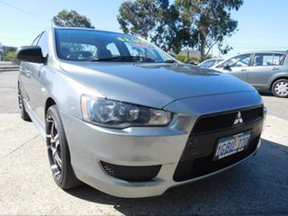 2012 Mitsubishi Lancer CJ MY12 Platinum Grey 6 Speed Constant Variable Sedan