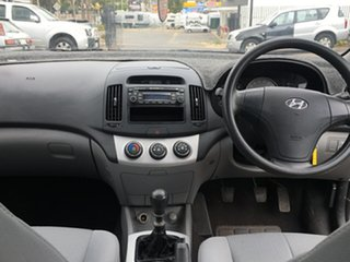 2008 Hyundai Elantra HD SLX White 5 Speed Manual Sedan