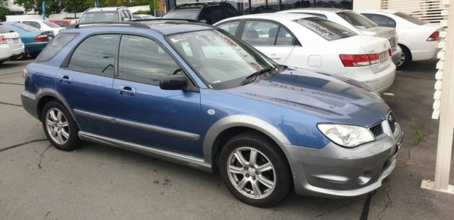 Used Subaru Impreza S MY07 RV AWD Mount Gravatt, 2007 Subaru Impreza S MY07 RV AWD Blue 4 Speed Automatic Hatchback