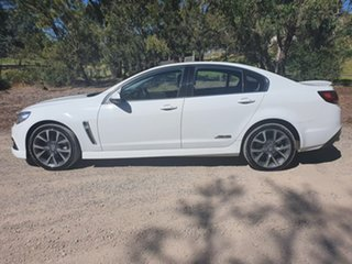 2015 Holden Commodore VF SS V White Sports Automatic Sedan