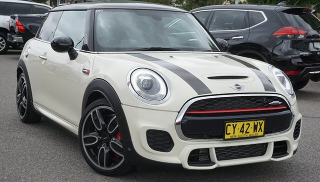 Used Mini Hatch F56 John Cooper Works Phillip, 2018 Mini Hatch F56 John Cooper Works White 8 Speed Sports Automatic Hatchback