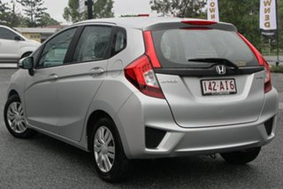 2015 Honda Jazz GF MY15 VTi Silver 5 Speed Manual Hatchback.