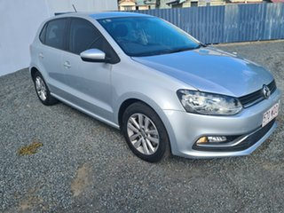 2015 Volkswagen Polo 6R MY15 81TSI DSG Comfortline Silver 7 Speed Sports Automatic Dual Clutch