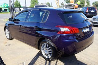 2014 Peugeot 308 T9 Access Twilight Blue 6 Speed Sports Automatic Hatchback.