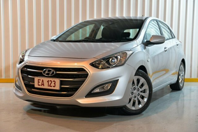 Used Hyundai i30 GD4 Series 2 Update Active Hendra, 2017 Hyundai i30 GD4 Series 2 Update Active Silver 6 Speed Automatic Hatchback