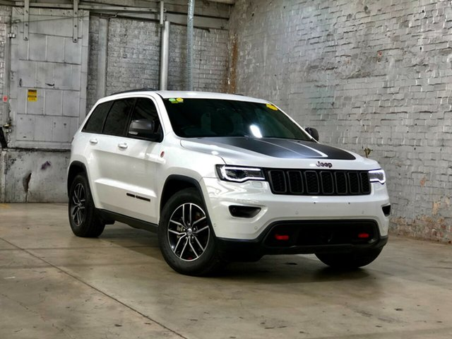 Used Jeep Grand Cherokee WK MY17 Trailhawk Mile End South, 2017 Jeep Grand Cherokee WK MY17 Trailhawk White 8 Speed Sports Automatic Wagon