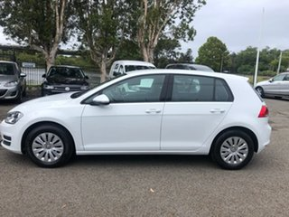 2013 Volkswagen Golf VII 90TSI DSG White 7 Speed Sports Automatic Dual Clutch Hatchback