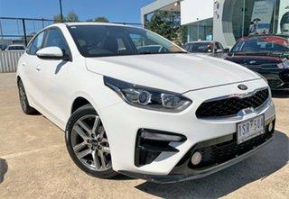 2020 Kia Cerato BD MY20 Sport Clear White 6 Speed Sports Automatic Hatchback.