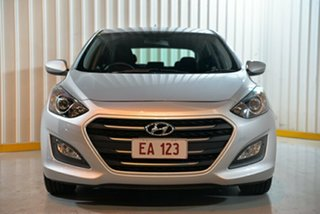 2017 Hyundai i30 GD4 Series 2 Update Active Silver 6 Speed Automatic Hatchback.