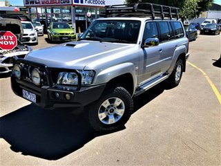 2012 Nissan Patrol Y61 GU 8 ST Silver 5 Speed Manual Wagon