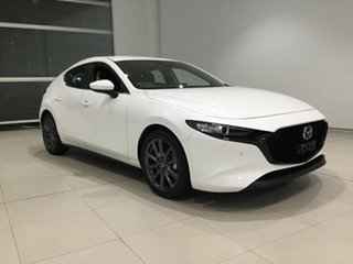 2020 Mazda 3 BP2H76 G20 SKYACTIV-MT Evolve Snowflake White 6 Speed Manual Hatchback.